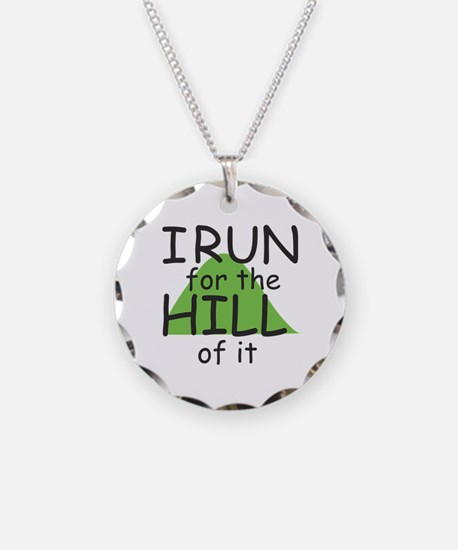Funny Hill Running Necklace