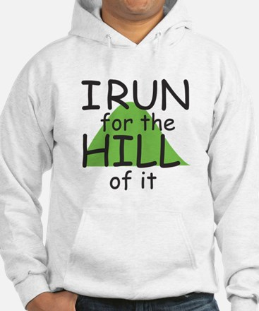 Funny Hill Running Hoodie