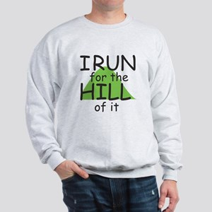 Funny Hill Running Sweatshirt