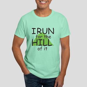 Funny Hill Running Dark T-Shirt