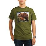 Bear & Cub Organic Men's T-Shirt (dark)