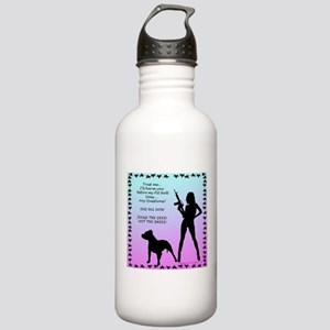 Ill Harm YOU END BSL Stainless Water Bottle 1.0L