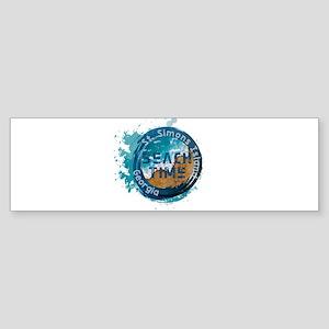 Georgia - St. Simons Island Bumper Sticker