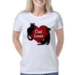 Cat Lover Art Women's Classic T-Shirt