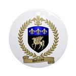 DUFRESNE Family Crest Ornament (Round)