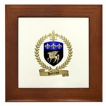 DUFRESNE Family Crest Framed Tile