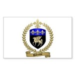 DUFRESNE Family Crest Sticker (Rectangle 50 pk)