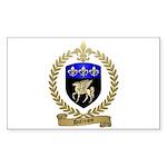 DUFRESNE Family Crest Sticker (Rectangle 50 pk)