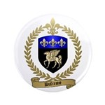"""DUFRESNE Family Crest 3.5"""" Button"""