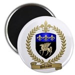 "DUFRESNE Family Crest 2.25"" Magnet (100 pack)"
