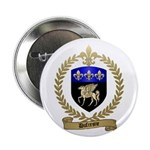 """DUFRESNE Family Crest 2.25"""" Button"""