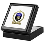 DUFRESNE Family Crest Keepsake Box