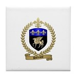 DUFRESNE Family Crest Tile Coaster