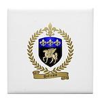 DUFRESNE Family Crest Tile Coaster