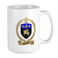 DUFRESNE Family Crest Large Mug