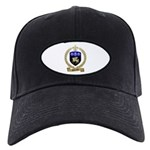 DUFRESNE Family Crest Black Cap