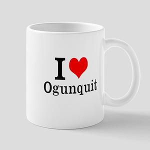 """I """"Heart"""" Ogunquit Mug"""