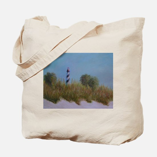 ST. AUGUSTINE LIGHTHOUSE VIEW Tote Bag