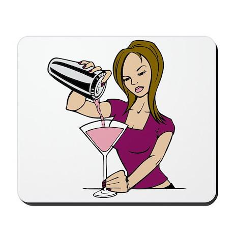Hot Bartender Mousepad