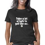 Golf Balls Women's Classic T-Shirt
