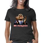 Obama flaming jackass dk Women's Classic T-Shirt