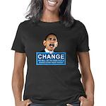 Obama Change Women's Classic T-Shirt