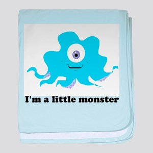 little monster baby blanket
