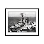 USS JAMES C. OWENS Framed Panel Print