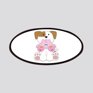 Cute Puppy Slippers Patches
