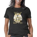 corgi-sheriff Women's Classic T-Shirt