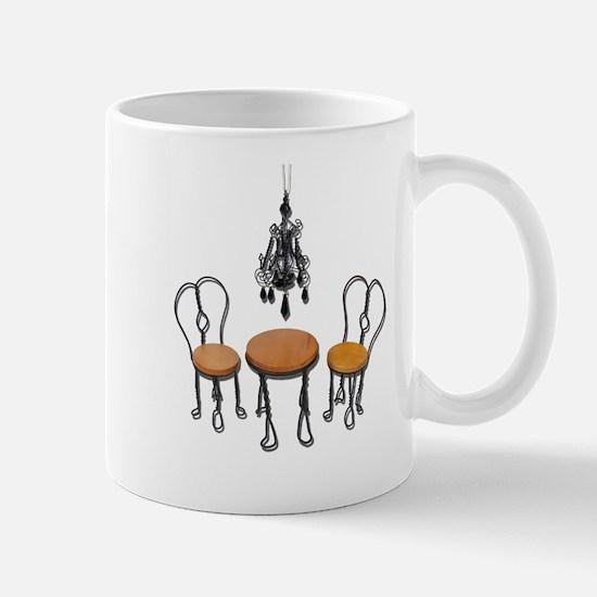 Chandelier Bistro Setting Mug