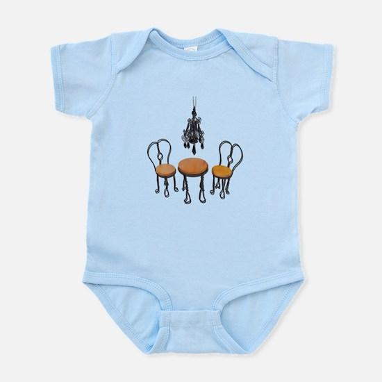 Chandelier Bistro Setting Infant Bodysuit