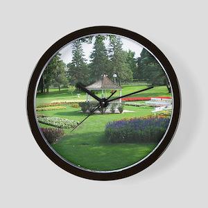 Tut Hill Gardens Wall Clock