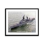 USS JOSEPHUS DANIELS Framed Panel Print