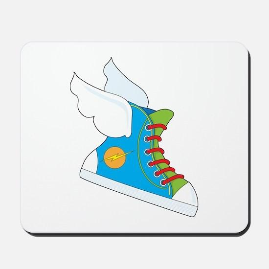 Flying Sneaker Mousepad
