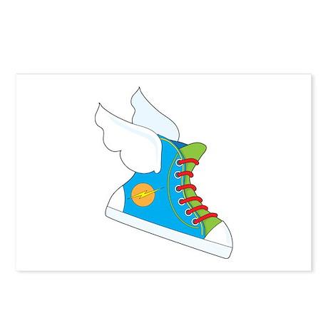 Flying Sneaker Postcards (Package of 8)