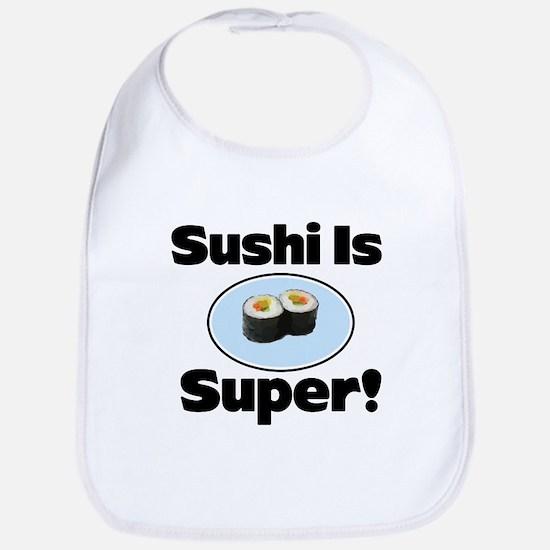 Sushi is Super! Bib
