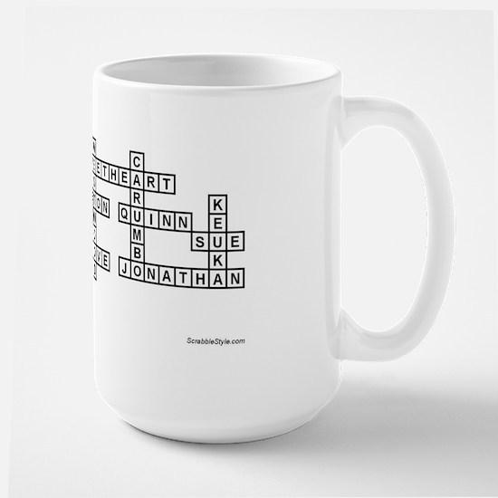 ULINTZ SCRABBLE-STYLE Large Mug