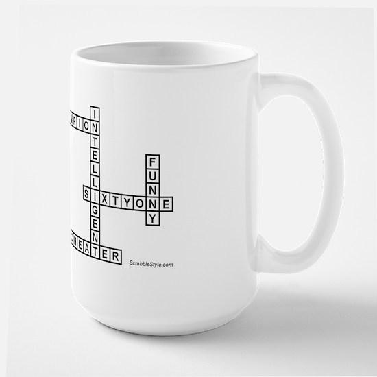 CUSSEN SCRABBLE-STYLE Large Mug