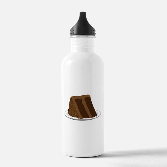 Chocolate Cake 2 Water Bottle