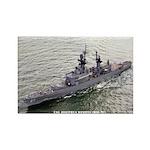 USS JOSEPHUS DANIELS Rectangle Magnet