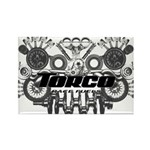 Torco Race Parts Art Rectangle Magnet (100 pack)