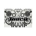Torco Race Parts Art Rectangle Magnet