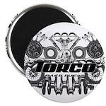 "Torco Race Parts Art 2.25"" Magnet (100 pack)"