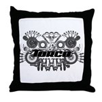 Torco Race Parts Art Throw Pillow