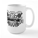 Torco Race Parts Art Large Mug
