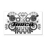 Torco Race Parts Art Car Magnet 20 x 12