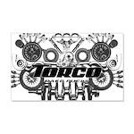Torco Race Parts Art 22x14 Wall Peel