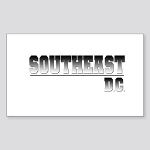 SouthEast D.C. Rectangle Sticker