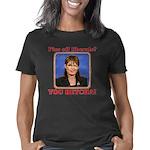 Sarah Palin You betcha Women's Classic T-Shirt